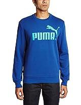 Puma Men's Round Neck Cotton Hoodies