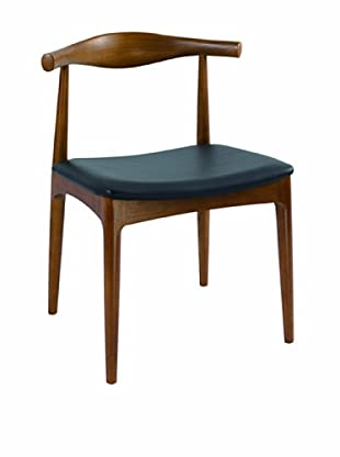 Control Brand Kennedy Side Dining Chair, Brown/Black