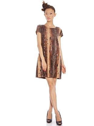 Custo Barcelona Kleid (Braun)