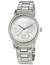Esprit Analog White Dial Women's Watch - ES108122004