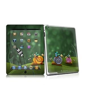 【クリックで詳細表示】普通のiPad2ケース/カバーじゃ物足りない方に!! Apple iPad2用スキンシール【Snail Race】
