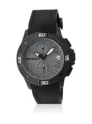 Breed Reloj con movimiento cuarzo japonés Brd5805 Negro 42  mm