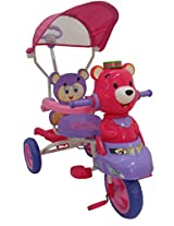 HLX-NMC KIDS TRICYCLE SMART BEAR PINK