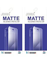 Johra Pack of 2 Matte HD Screen Scratch Protector for Samsung Galaxy J5