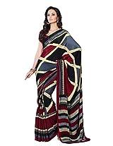 Kanheyas High Quality Chiffon Printed Saree