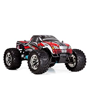 Redcat Racing Volcano S30 Nitro Truck Red 1/10 Scale