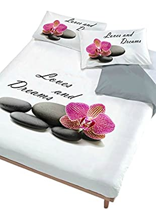 Italian Bed Linen Juego De Funda Nórdica Love And Dreams