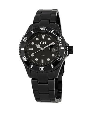 Carlo Monti Herren Armbanduhr XL Varese Analog Edelstahl beschichtet CM507 622