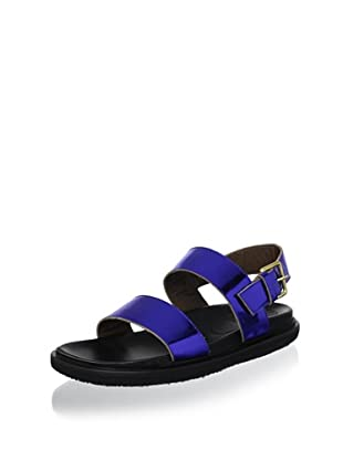 Marni Women's Metallic Sandal (Bluette)