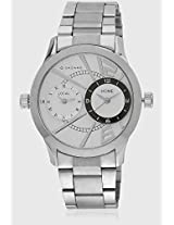 P6867-N Silver/White Analog Watch Giordano