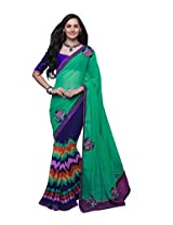 Pikasho Party Wear Cutpatch Saree 8014