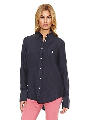 US Polo Assn Camisa Básica (Azul Marino)