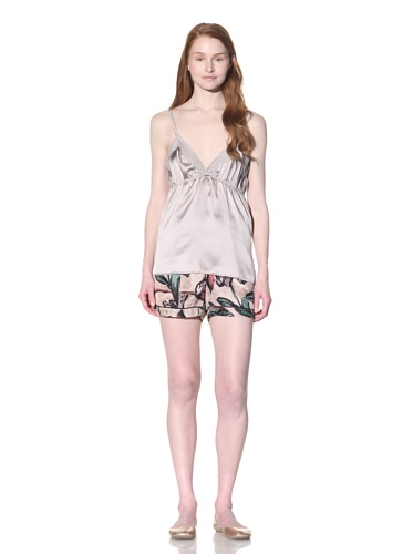 MARNI Women's Lace-Trimmed Camisole (Light Lilac)