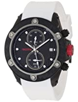red line Men's RL-10119DV Carbon Brake Chronograph Black Dial Watch