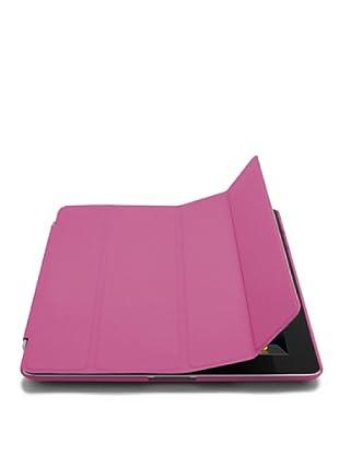 Unotec Funda Para iPad2/3/4, Protección Total Y Soporte Rosa