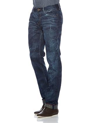 Cross Jeans Pantalón Vaquero Brad (Azul Oscuro)
