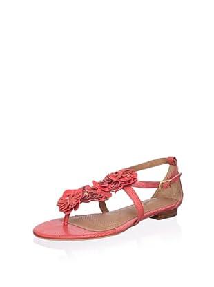Corso Como Women's Fountain Flat Sandal (Coral)