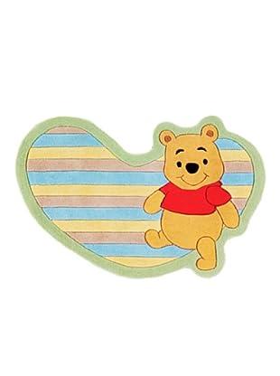 ABC Tappeti Alfombra Winnie The Pooh (Multicolor)