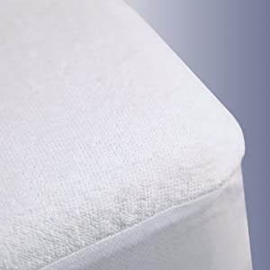 Trance Mattress Protectors King Size (Waterproof) - White