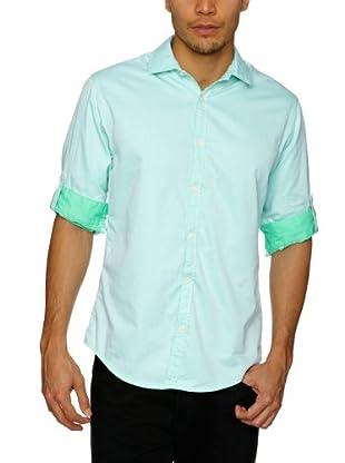 Scotch & Soda Camisa Steeve (Verde Menta)