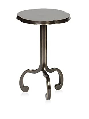 Prima Design Source 3 Legged Clover Table, Brass