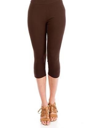 Cortefiel Legging (Braun)