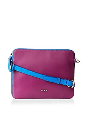 TUMI Prism Slim Zip Top Crossbody For Ipad, Purple Multi