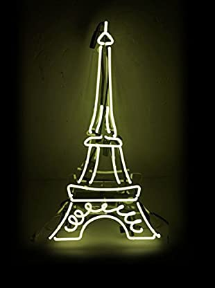 Oliver Gal Eiffel Neon Sign, Multi