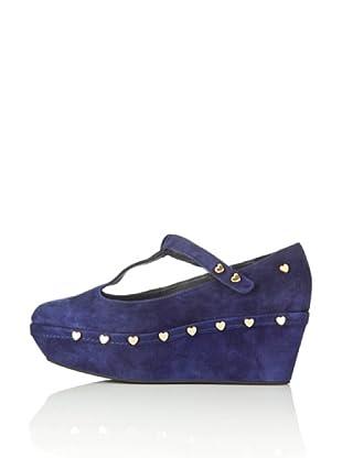 Love Moschino Zapatos Heart (Azul)