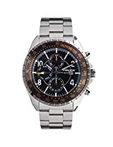 Police Analog Grey Dial Men's Watch - 12777JSU-02M