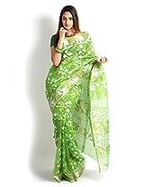 Uday Cotton Silk Saree (Udjmda1Green _Green)