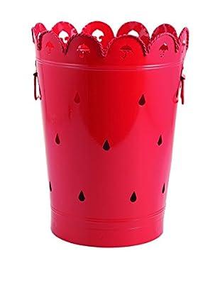 Colorful Table Paragüero Rain Rojo