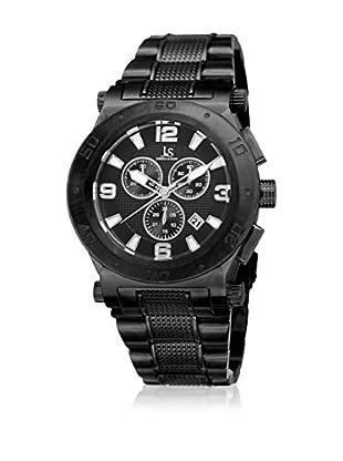 Joshua & Sons Reloj de cuarzo Man JX104BK 45 mm