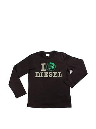 Diesel Junior Longsleeve (Schwarz)