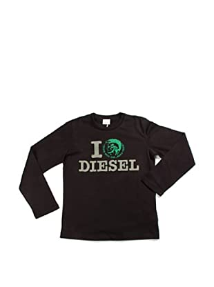 Diesel Camiseta Tayly (Negro)