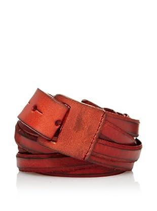 Sándalo Cinturón Tiras (Rojo)