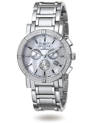 Invicta Specialty_Diamonds - Reloj Chrono SS Elegant Diamonds amarillo / negro
