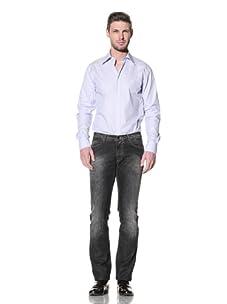 Versace Collection Men's City Fit Shirt (Blue)