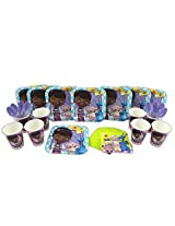 Doc McStuffins Cake Plate, Napkin, Cup, and Spoon Party Set for 8