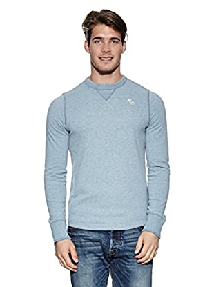 Abercrombie & Fitch Pullover Classic Crew (hellblau)