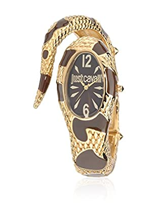 Just Cavalli Quarzuhr Woman Poison goldfarben/braun 21 mm