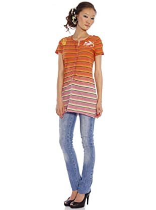 Custo Vestido (naranja)