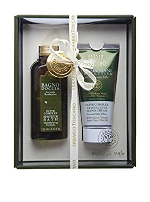 Erbario Toscano Olive Complex 2-Piece Shower Bath & Hand Cream Gift Set