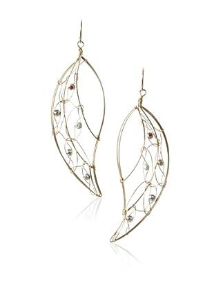 Misha Leaf Earrings