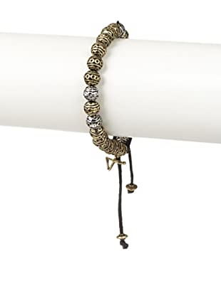Talon Two-Tone Beaded Bracelet