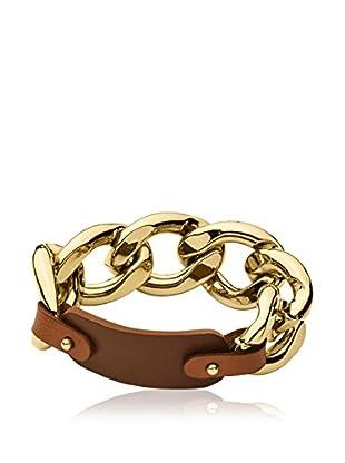 Dyrberg/Kern Armband Carlin Sg Brown goldfarben
