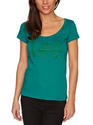 Lee Camiseta Printed (Verde)