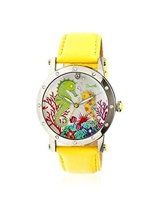 Bertha Women's BR4202 Morgan Yellow Leather Watch