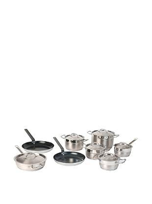 BergHOFF Hotel Line 14-Piece Cookware Set, Silver