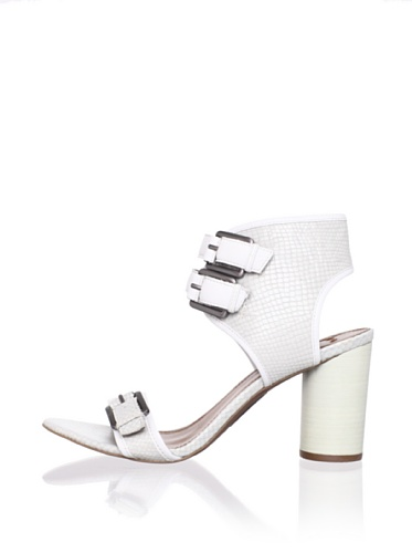 Boutique 9 Women's Rosemarie Sandal (White/white)